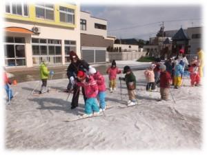 スキー体験(年長)
