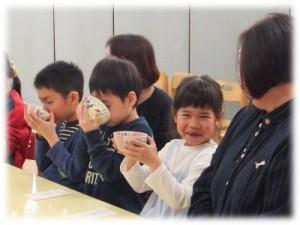 ひな茶会(年長)